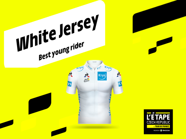 WHITE JERSEY FOR THE BEST YOUNG MAN ON TOUR