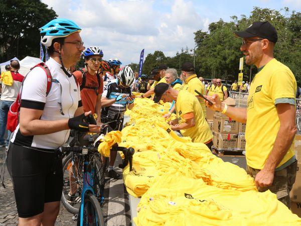 Zažij legendu Tour de France jako dobrovolník