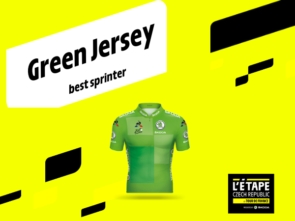 GREEN JERSEY FOR THE BEST SPRINTER