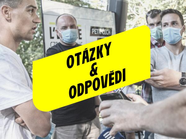Otázky a odpovědi k odložení L'Etape Czech Republic