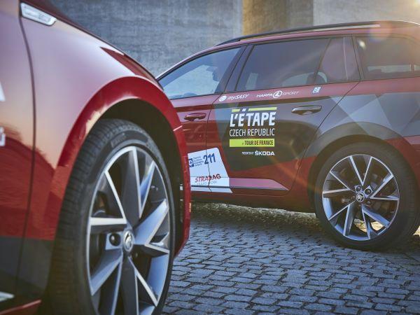 Představujeme ředitelské vozy L'Etape Czech Republic