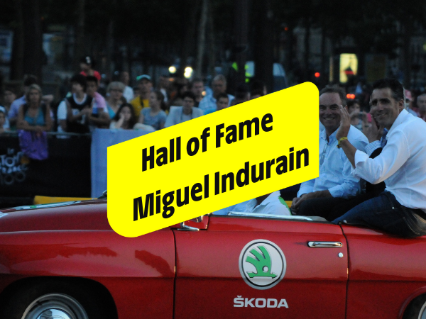 Miguel Indurain, 5 times in yellow