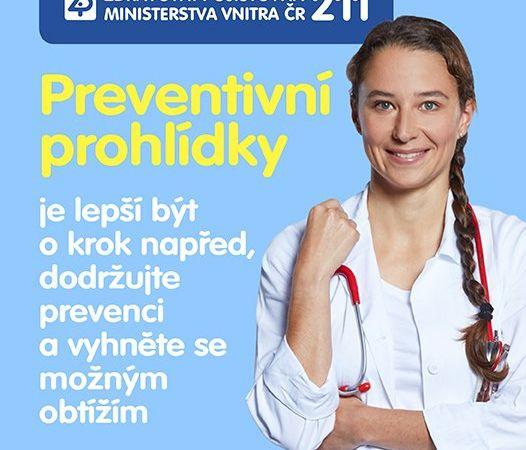 Zdravotní pojišťovna ministerstva vnitra ČR varuje: Nepropásněte nenápadné začátky