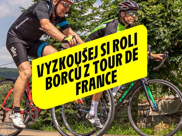 Zažijte atmosféru jako na Tour de France