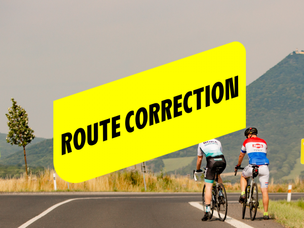 ROUTE CORRECTION