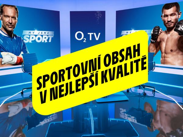 Nejlepší sportovní obsah na O2 TV