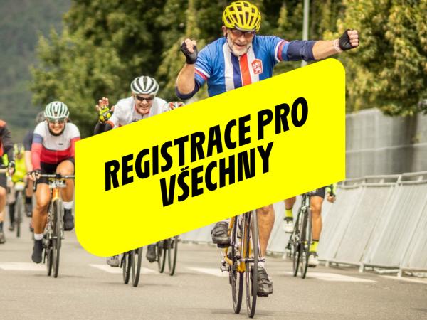 Start registrace pro všechny