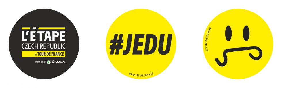 Stickers L'Etape Czech Republic