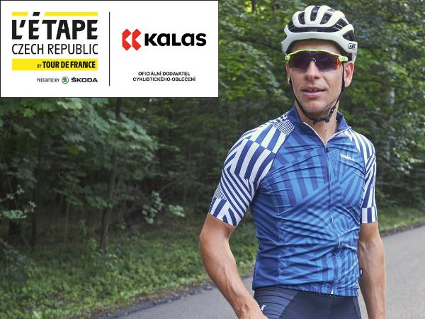 Oficiálním dodavatelem cyklistického oblečení pro L'Etape Czech Republic se stává KALAS Sportswear