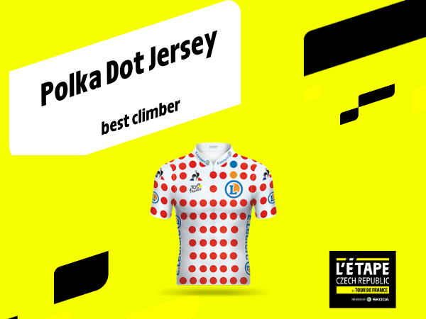 POLKA DOT JERSEY FOR THE KING OF THE MOUNTAINS